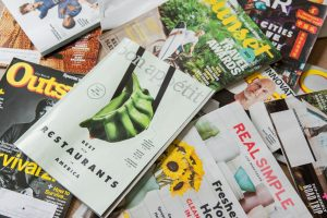 advertising, magazine, brochure